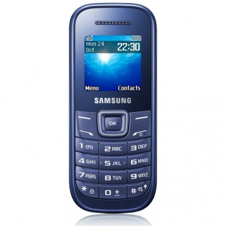 Téléphone Portable Samsung E1200 / Bleu
