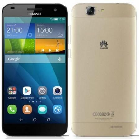 Téléphone Portable Huawei Ascend G7 / Gold + Samsung E1200R + Puce DATA