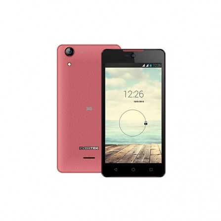 Evertek EverStar Q50 / 3G / Double SIM / Rose + Baguette Selfi