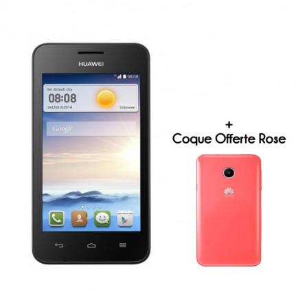Téléphone Portable Huawei Ascend Y330 / Blanc + MicroSD 8 Go
