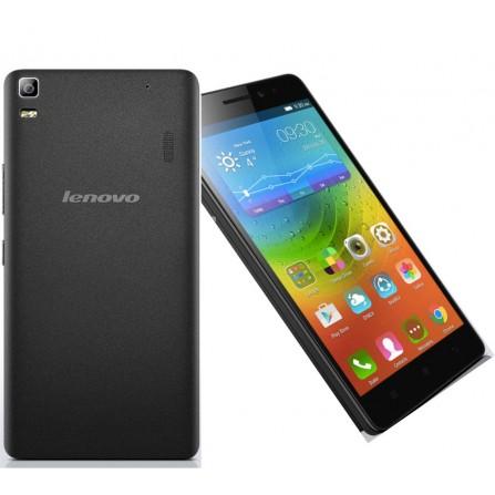 Téléphone Portable Lenovo A7000 / Noir + Puce Data + Film + Coque