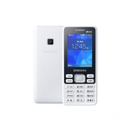 Téléphone Portable Samsung Metro B350E / Dual SIM / Blanc