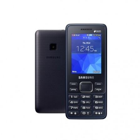 Téléphone Portable Samsung Metro B350E / Dual SIM / Noir