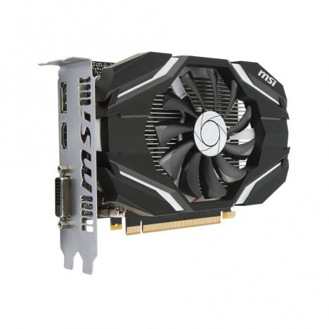 Carte Graphique MSI Nvidia GeForce GTX 1050 2 Go DDR5/OC