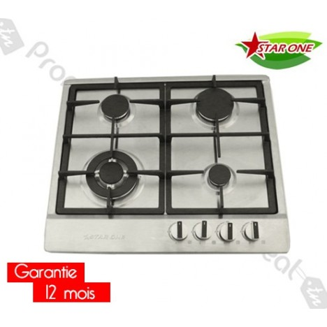 Finest Plaque De Cuisson Encastrable Starone Inox With Plaque Cuisson  Encastrable