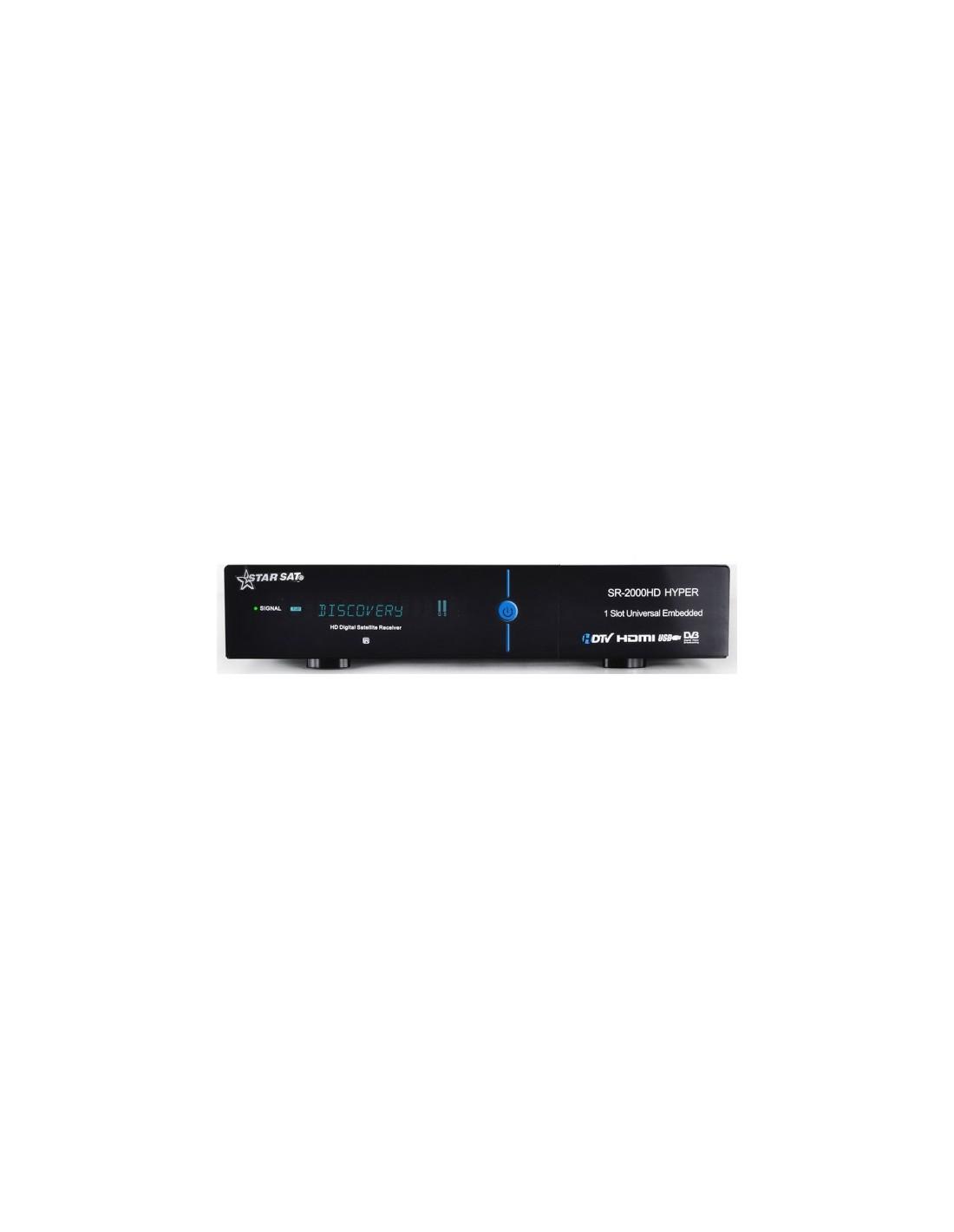 Récepteur StarSat SR - 2000HD HYPER Avec Abonnement