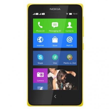 Téléphone Portable Nokia X / Double SIM Jaune