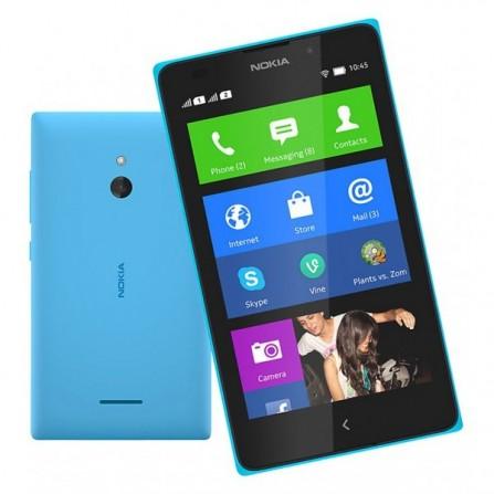 Téléphone Portable Nokia X / Double SIM Bleu