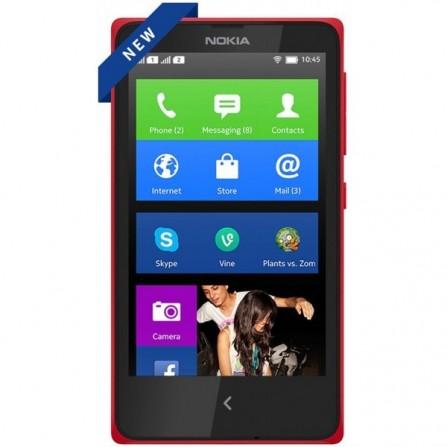 Téléphone Portable Nokia X / Double SIM Rouge
