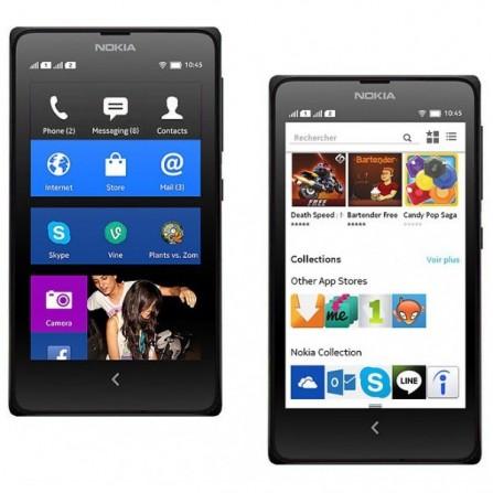 Téléphone Portable Nokia X / Double SIM Noir
