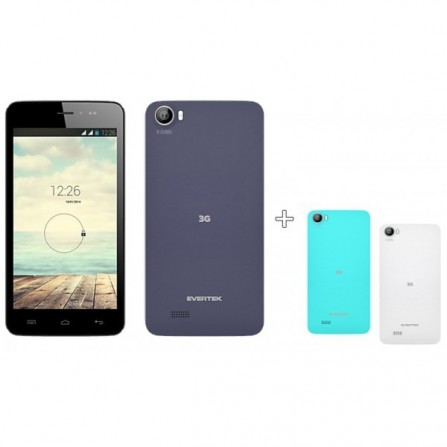 Téléphone Evertek EverGlow D50 / 3G / Double SIM