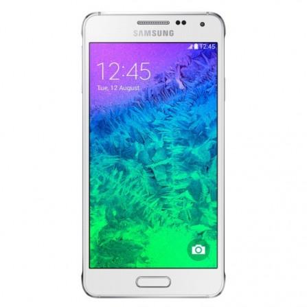 Téléphone Portable Samsung Galaxy Alpha 32 Go Blanc