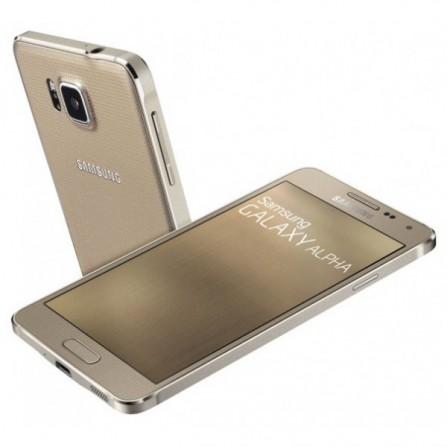 Téléphone Portable Samsung Galaxy Alpha 32 Go Gold