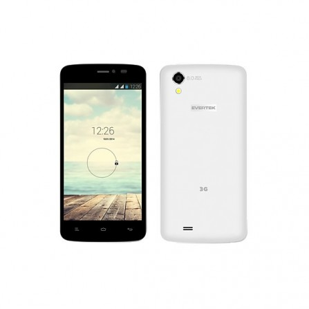 Téléphone Evertek EverMiracle Nano / 3G / Double SIM / Blanc