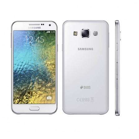 Téléphone Portable Samsung Galaxy E7 / Double SIM / Blanc
