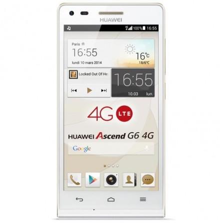 Téléphone Portable Huawei Ascend G6 / Blanc