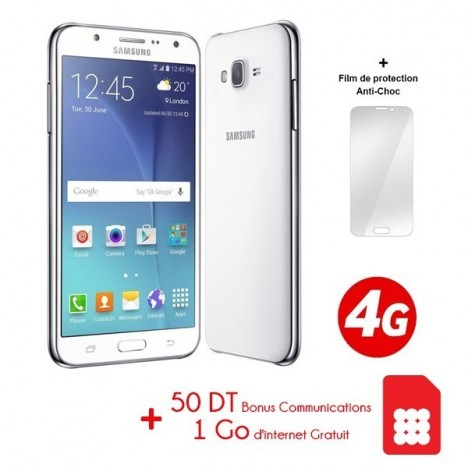 Prix Telephone Portable Samsung Galaxy J7 4g Blanc Tunisie