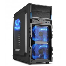 Boitier Gamer Sharkoon VG5-W Blue