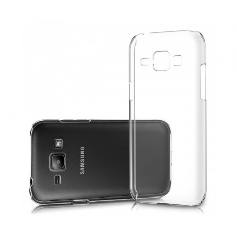 Coque en Silicone Pour Samsung Galaxy J1 Ace / Transparent
