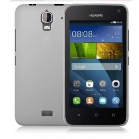 Coque en Silicone pour Huawei Y3C / Silver