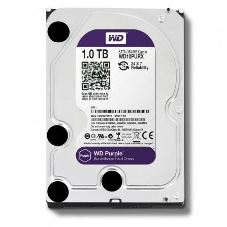 "Disque Dur Interne 3.5"" Western Digital Purple 1 To"