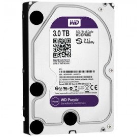 "Disque Dur Interne 3.5"" Western Digital Purple 3 To WD30PURX"