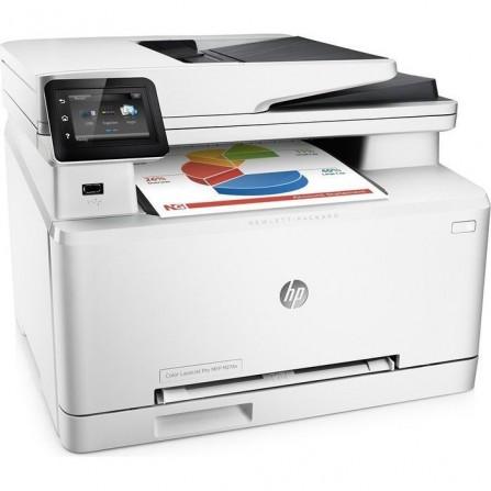 Imprimante multifonction 3en1 HP Color LaserJet Pro M274n / Réseau