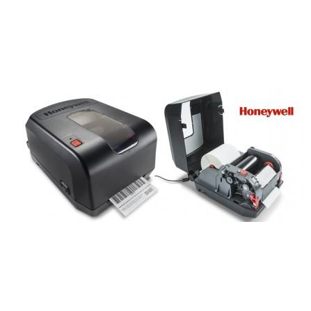 "Imprimante Code à Barre Honeywell PC42t / USB + RS232 + Ethernet / Lecture 0.5"""