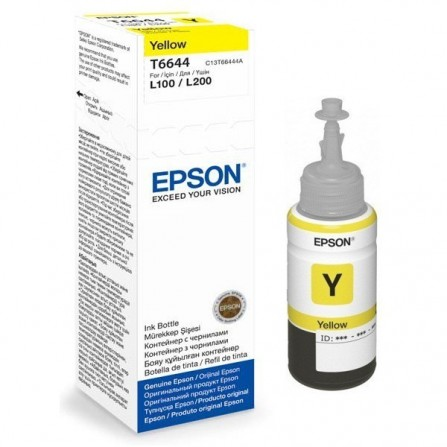 Bouteille d'encre Epson T6642 Cyan 70ml