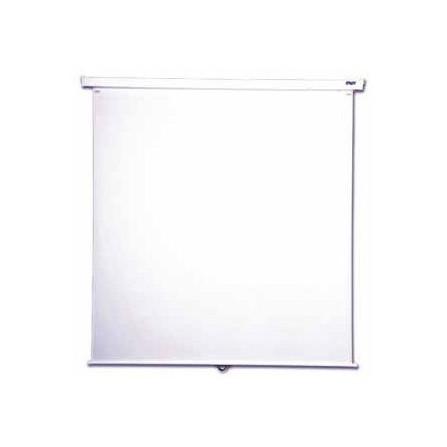 Ecran de projection mural manuel ORAY 2000 pro 200 x 200 cm - Blanc (MPP03B1200200)