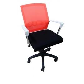 Chaise de Bureau Imperial Rouge