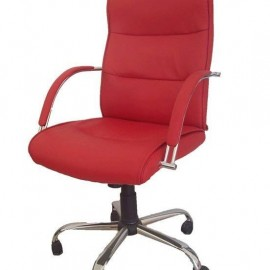 Chaise de direction Manager rouge