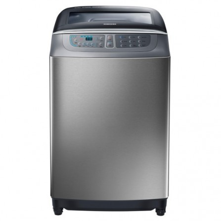 Machine à laver à chargement par le haut Samsung 18 KG / Silver