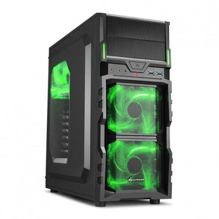 Boitier Gamer Sharkoon VG5-W Green