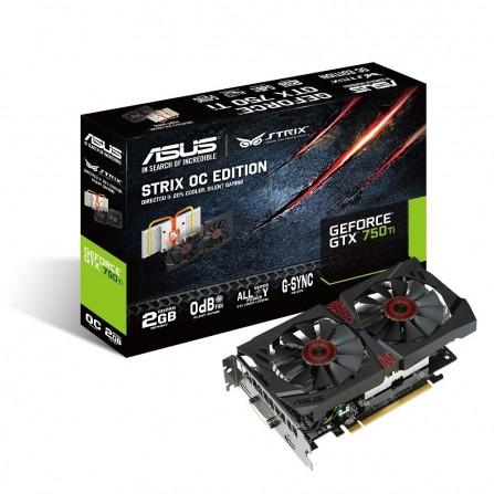 Carte Graphique Asus Nvidia GeForce GTX 750 Ti 2 Go DDR5/OC