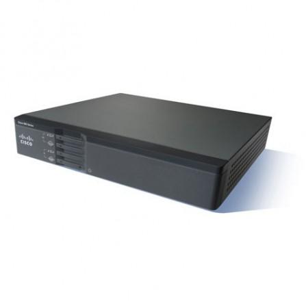 Routeur Cisco 867VAE-K9 à services intégrés SEC W/VDSL2/ADSL2+