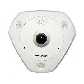 Caméra IP Fisheye Anti vandale 12MP Hikvision
