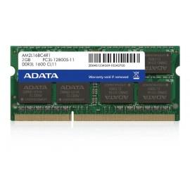 Barrette Mémoire Adata 2 Go DDR3 L3