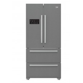 Réfrigérateur - No forst  - side by side - BEKO 600L Inox (GNE60500X)