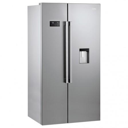 Réfrigérateur américain Beko 630L - Silver (GN163220SX)