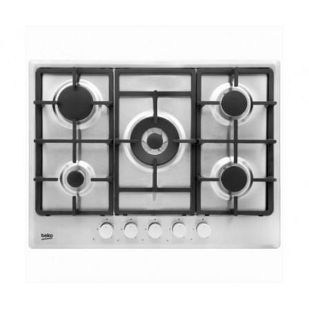 Plaque de cuisson encastrable BEKO 5 Feux HIMW75225SX