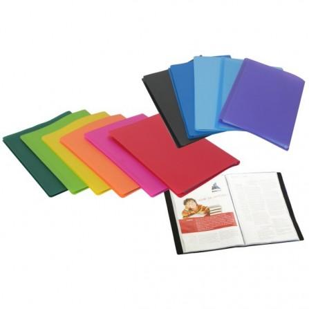 Porte documents 120 vues polyclass A4 à 60 Pochettes