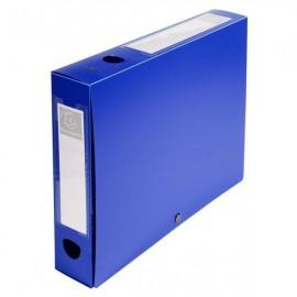 Boite de classement à pression Dos 60mm Bleu 59632