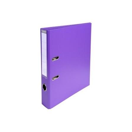 Classeur à levier PVC A4 dos de 50mm Violet 53557