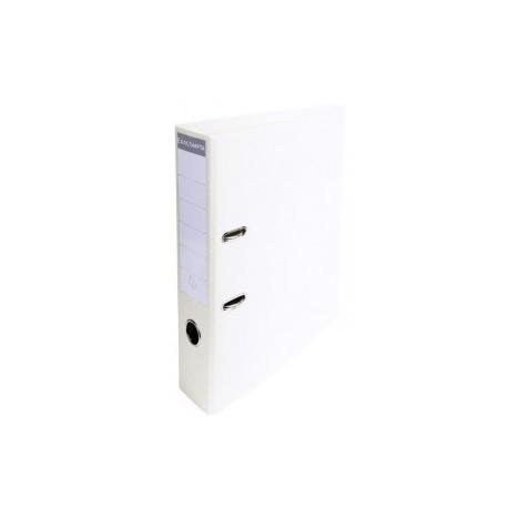 Classeur à levier PVC A4 dos de 70mm / Blanc