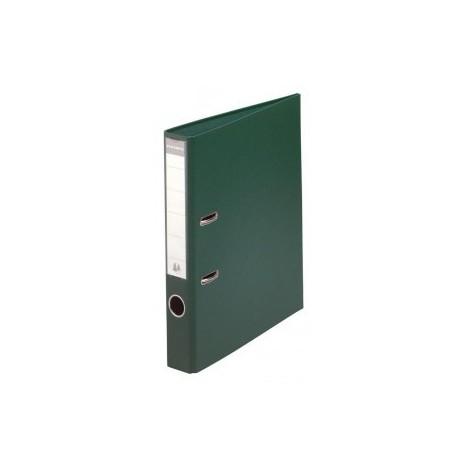 Classeur à levier PVC A4 dos de 50mm / Vert foncé