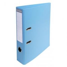 Classeur à levier PVC A4 dos de 70mm Bleu clair 53702