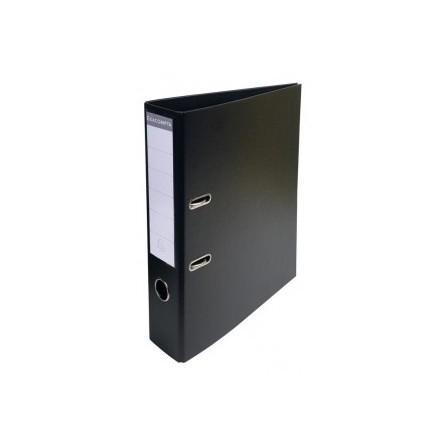 Classeur à levier PVC A4 dos de 70mm Noir 53741