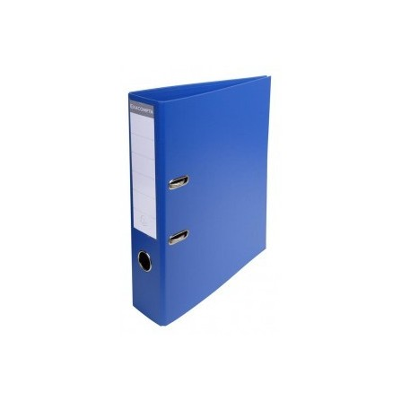 Classeur à levier PVC A4 dos de 70mm Bleu 53752