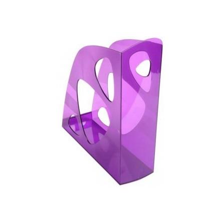 Porte revue EXACOMPTA Violet Transparent 18119D